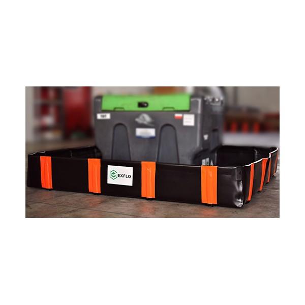 2856 L EXFLO standard sulankstomas išsiliejimo padėklas