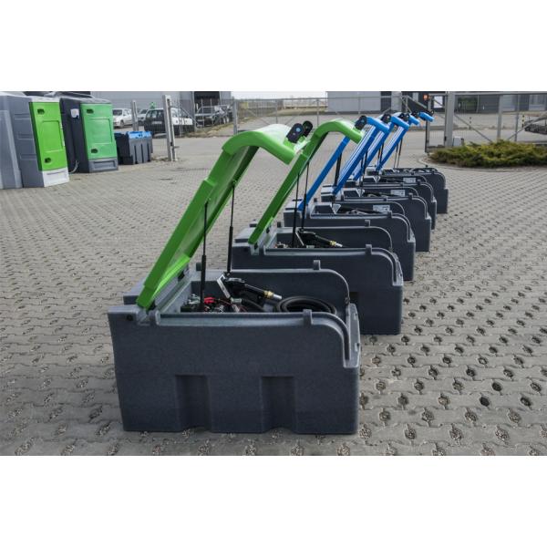 Fortis Box mobili kuro talpa 400 L 12 V (su skaitmeniniu srauto skaitikliu)