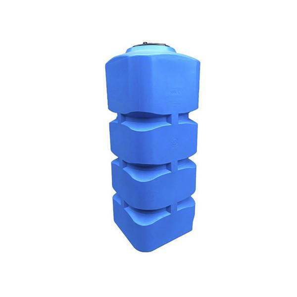 1000 L vertikali, keturkampė, vienasienė talpa vandens saugojimui