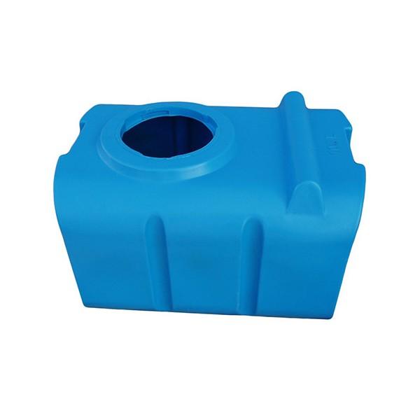 100 L horizontali, keturkampė, vienasienė talpa vandens saugojimui