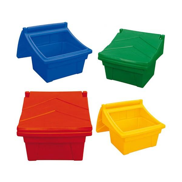 Kingspan birių medžiagų dėžė 100 kg (geltona)