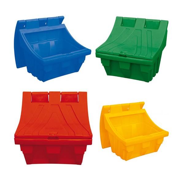 Kingspan birių medžiagų dėžė 300 kg (geltona)