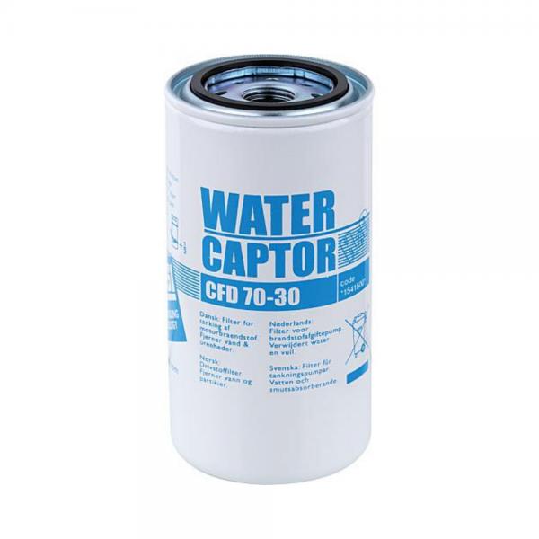 Kuro išpilstymo sistemos filtras su vandens separatoriumi ir 30μ kietu dalelių filtravimu