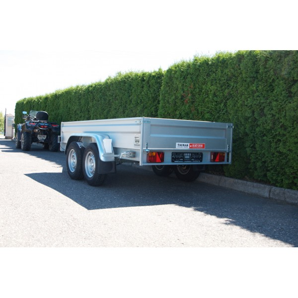 FMT Mobisteel 2000 L talpos ir priekabos komplektas