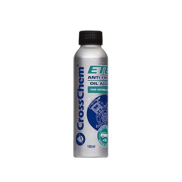 Antifrikcinis tepalo priedas ETEX benzininiams varikliams iki 8 L (100 ml)