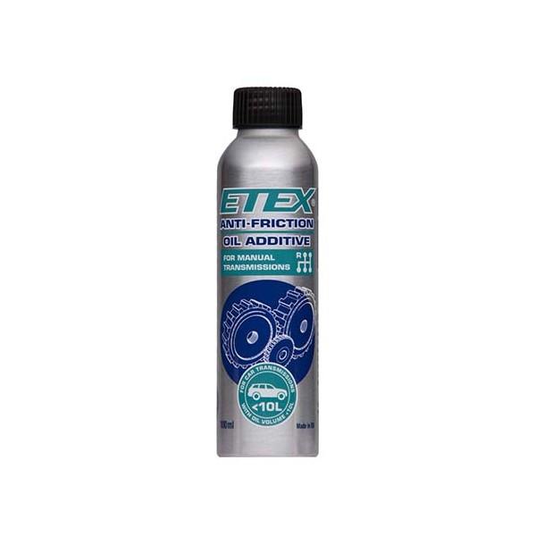 Antifrikcinis alyvos priedas ETEX mechaninėms pavarų dėžėms iki 10L (100 ml)