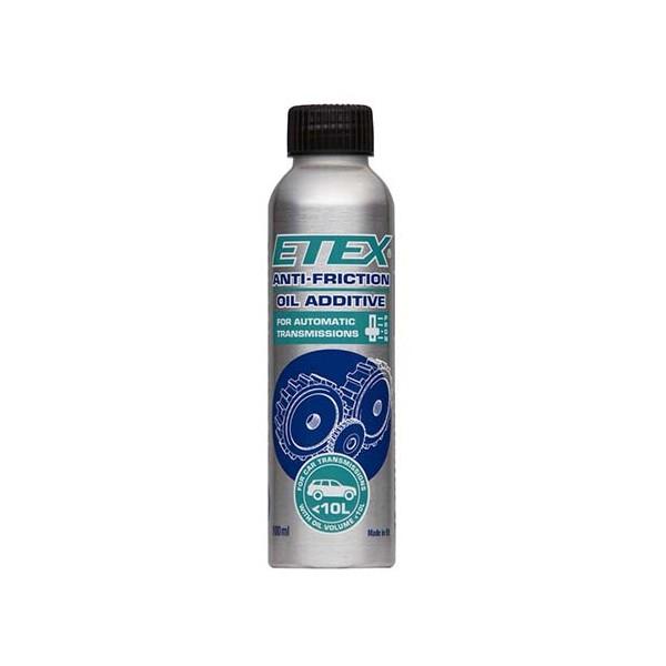 Antifrikcinis alyvos priedas ETEX automatinėms pavarų dėžėms iki 10L (100 ml)