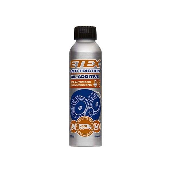 Antifrikcinis alyvos priedas ETEX automatinėms pavarų dėžėms iki 30L (100 ml)