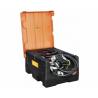 CEMO mobili bendzino talpa 120 L su elektriniu ATEX standartų siurbliu 12V, 25L/min
