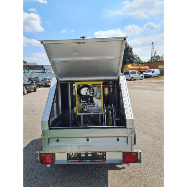 Mobili aviacinio bešvinio bendzino koloėlė - priekaba 330 L