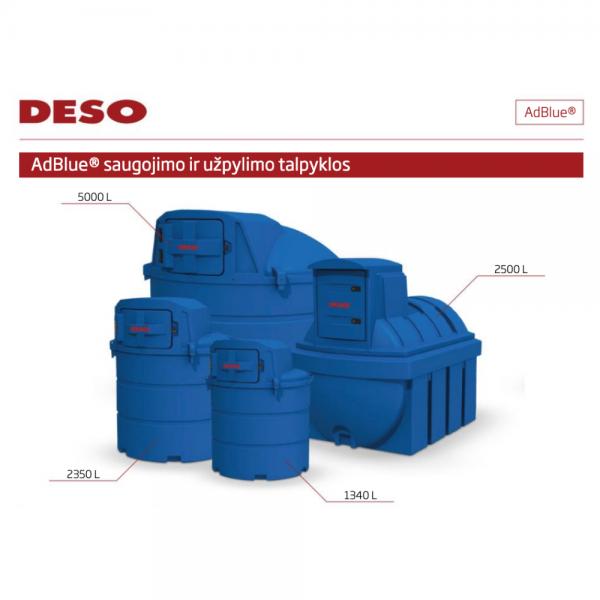 DESO AdBlue talpa 2350 L