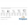 2500 L vienasienė AdBlue išpilstymo talpa Kingspan BlueMaster Basic
