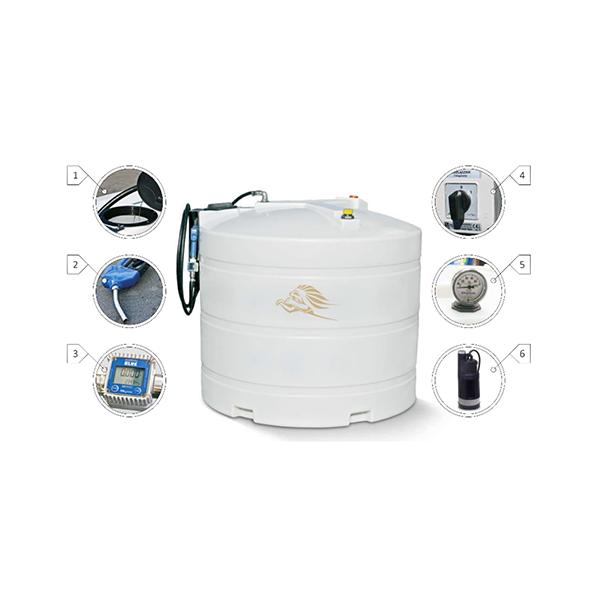 4000L vienasienė AdBlue išpilstymo talpa Kingspan BlueMaster Basic
