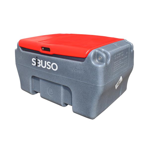 SIBUSO vienasienė mobili kuro talpa 200 L su skaitikliu CLASSIC MC200 S