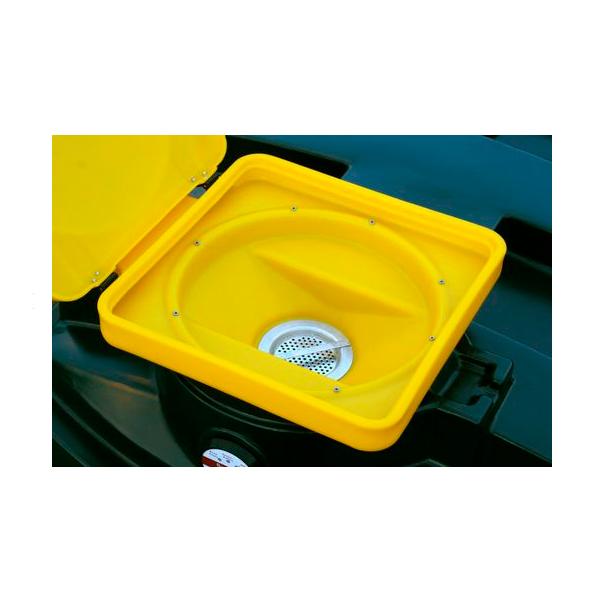 200 L Kingspan panaudotos alyvos surinkimo dvisienė talpa