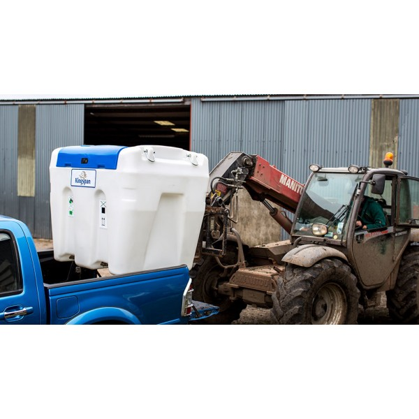 200L 24V AdBlue mobili talpa Kingspan BlueTruckMaster žemo profilio