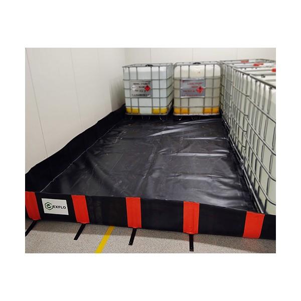 154 L EXFLO standard sulankstomas išsiliejimo padėklas